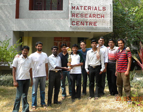 MRC Cricket team won Inter Departmental Cricket Championship 2010